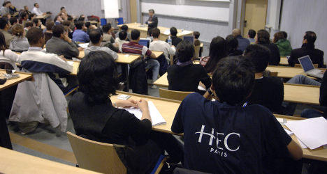 'Some French academics are resistant to change'