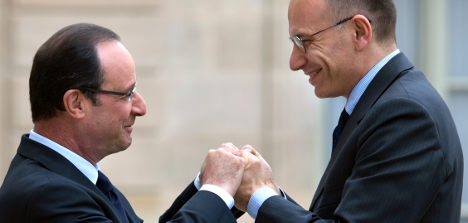 Hollande and new Italian PM gang up on austerity