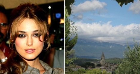Actress Keira Knightley weds in south of France