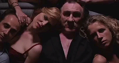 VIDEO: First glimpse of Depardieu as DSK