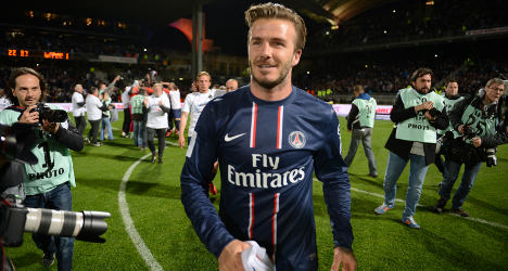 PSG's Beckham to retire from football