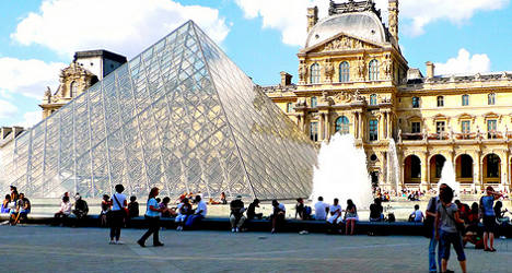 Paris police help Louvre ward off pickpockets