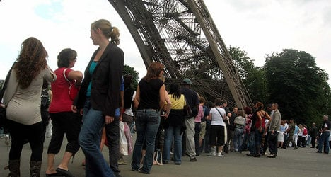 Eiffel Tower reopens after two-day strike