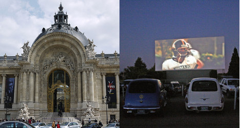 Paris's Grand Palais to be US drive-in cinema