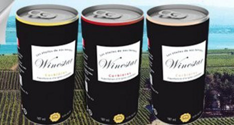 French firm breaks taboo with wine in a can