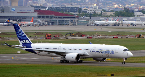 VIDEO: Airbus A350 makes maiden flight