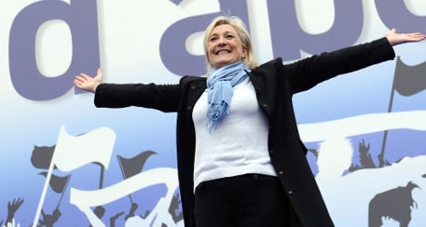 French far-right as popular as major parties