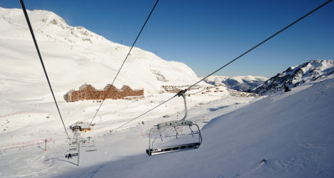 French ski station for sale on small ads site