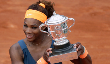 Serena Williams claims French Open title