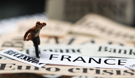 French 'slightly more positive' on the economy