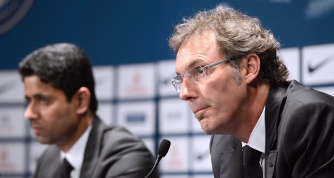 Blanc unfazed at not being PSG's first choice