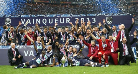 Bordeaux beat Evian to win French Cup