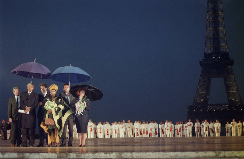 IN PICTURES: Nelson Mandela and the French connection