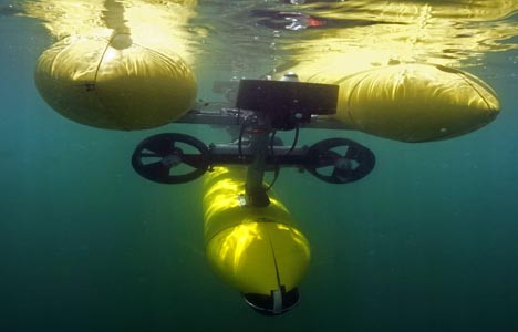'Marine drones' tested in Toulon