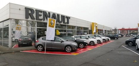 Renault's profits plunge after end to Iran activities
