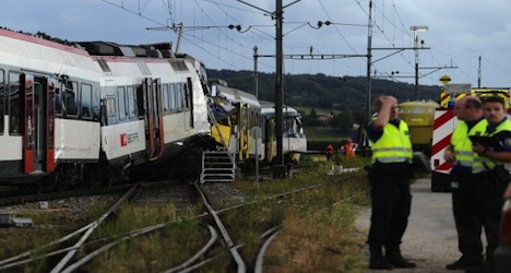 Driver killed in Swiss train crash 'was French'