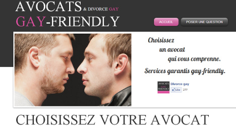 'Gay friendly' docs and lawyers listed in France