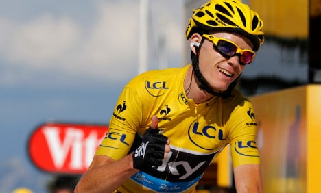 Froome poised to cap UK summer of sport