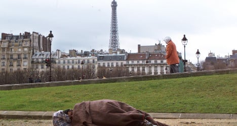 France sees sharp rise in homelessness: study