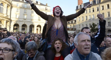 French celebrate liberation from tax man