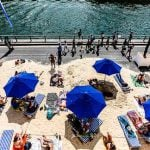 Get down to the beach: If you can't get to the beach this summer then let the beach come to you. The event begins in late July, and will see beaches along the River Seine and the Bassin de la Villette in the 19th arrondissement. Photo: Sharat Ganapati