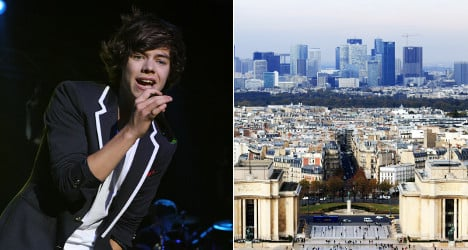 One Direction's Styles 'buys Paris penthouse'