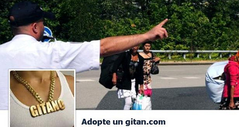 Facebook under fire over 'Adopt a gypsy' page