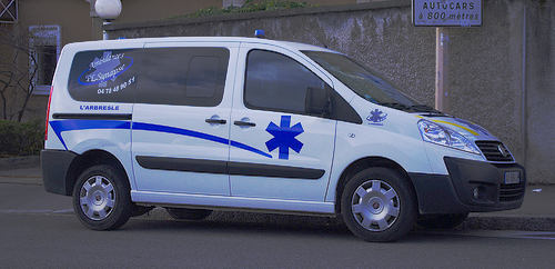 Ambulance hit with six fines on emergency call