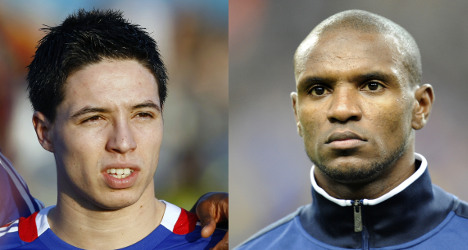Abidal and Nasri recalled to France squad