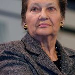 <strong>6. SIMONE VEIL.</strong> The oldest in the Top 10, 86-year-old Veil is a towering figure in French politics. Best-known for legalizing abortion as health minister in 1975, she also made it easier for women to get contraceptives, and was the first female President of the European Parliament.  Coming from a Jewish family, Veil was sent to Auschwitz-Birkenau concentration camp in 1944, before being moved on to Bergen-Belsen. Veil moves up one place from seventh in last December's list. Photo: Marie-Lan Nguyen