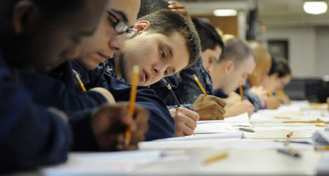 French unhappy with quality of education