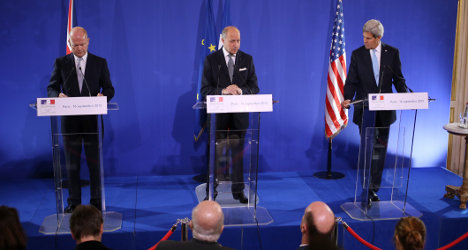 France, UK and US to up support for Syrian rebels