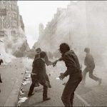 """<strong>May, 1968. </strong> The events of May and June 1968 began with students occupying university campuses, particularly at the elite Sorbonne in Paris. Heavy-handed police added to the anger and determination of the students, dismayed at social injustice and bureaucratic control of higher education. Trade unions joined the struggle, but some violent confrontations with police, property damage, and an anarchist streak among the students, has led to ambivalence over the legacy of """"Mai 68.""""Photo: AFP"""