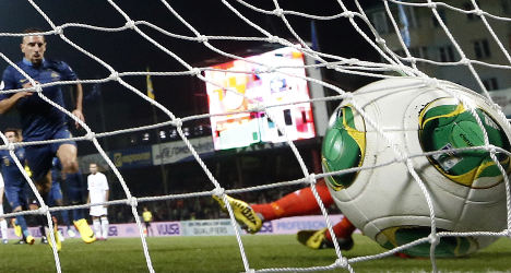 France end goal drought to beat Belarus