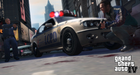 Shop's Grand Theft Auto mobster stunt goes awry