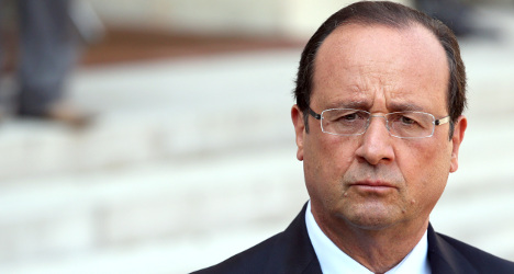 Hollande 'playing high risk game' over Syria