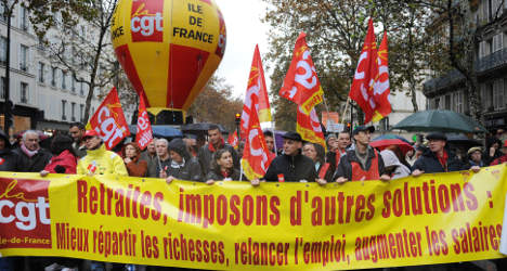 France braced for day of strikes and protests