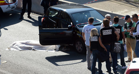 Son of Marseille sporting director gunned down