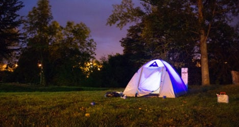 Couple held over spate of tourist campsite thefts
