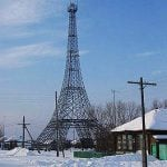 It's no coincidence that this 50-metre-tall replica, which serves as a cellular network station is located in PARIZH, RUSSIA. The town was in fact named after the French capital to honour the Battle of Paris which happened in 1814. The tower was built much later in 2005.Photo: ДимонЪХ/Wikicommons