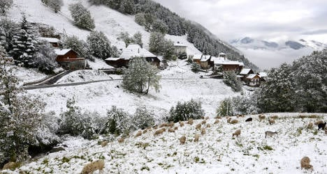 Winter is coming: First snowfalls hit France