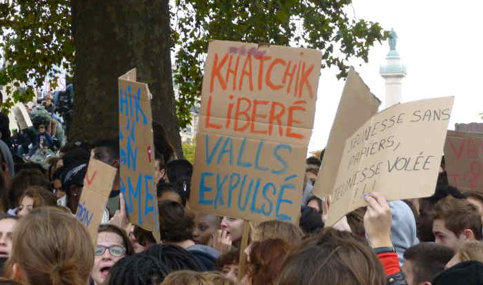 IN PICTURES: Zombies invade Paris
