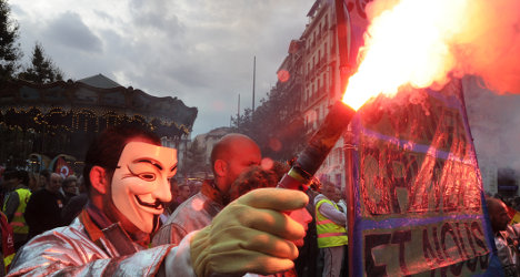French pension reforms adopted amid protests