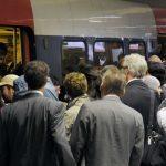 <strong>Commuting:</strong> Whether it's long journeys to the office in rural parts of France, sitting in traffic on the périphérique around Paris, or being packed like sardines on a rush-hour Metro, France rates very poorly for commuting. Though ranked 35th out of 37, the daily grind isn't that much worse for expats in the Hexagon, than it is for their counterparts in the UK (31st) the US (30th) or Spain (27th). Photo: Bertrand Guay