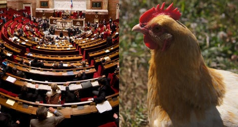 French MP's clucking sparks sexism spat