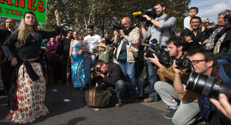 Photo of the Day: A song and dance to dispel fears