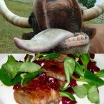 """<strong>Langue de boeuf:</strong> The thought of putting a cow's tongue in their mouth has brought a grimace of disgust to many an Anglo's face over the years. But French chef Iman Bogen says the trick to cooking and eating cow's tongue is to disguise the fact that it is in fact a tongue. """"Often the shape can put people off so you should cut the tongue into nice thin slices and it will really melt in your mouth,"""" the chef says. Photo: Charles Haynes"""
