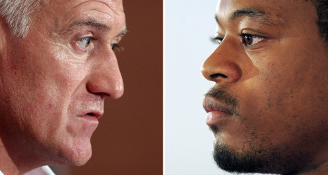 Evra in France squad for Ukraine play-off