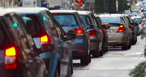 The French city with the worst traffic is…
