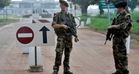 France set to send troops to 'chaotic' Central Africa